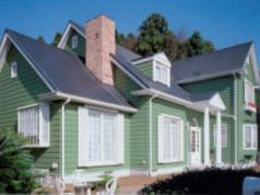 彩りを華やかにした住宅