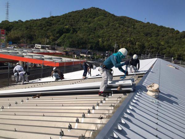 某工場 屋根改修工事サムネイル